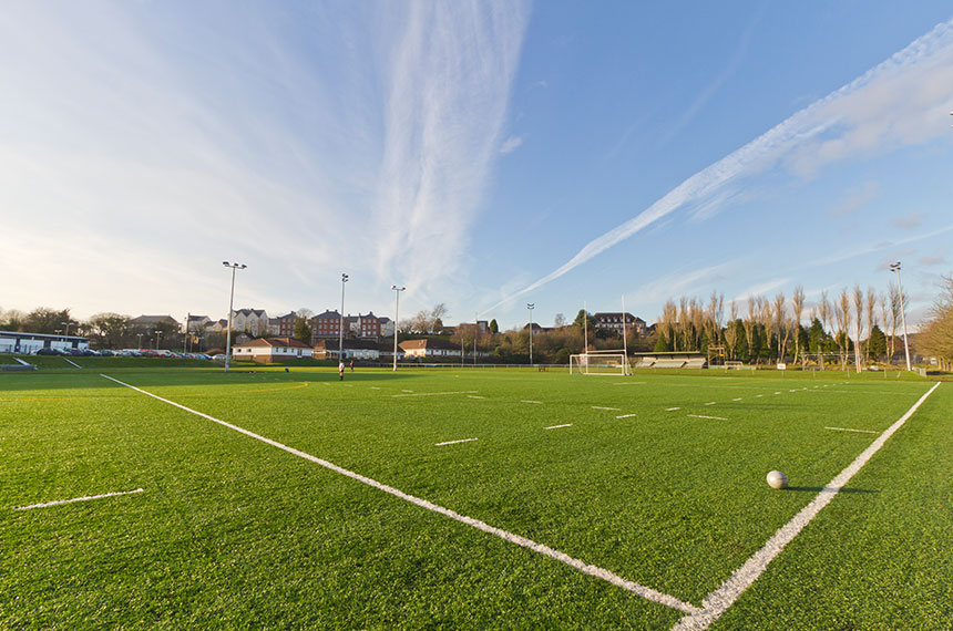 Artificial Pitch At Llandarcy Academy of Sport