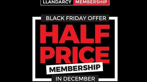 'BLACK FRIDAY' NEW MEMBERS SALE!