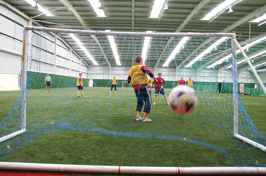 Walking Football At Llandarcy